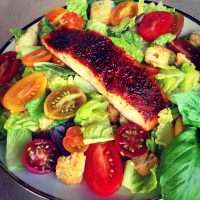 Mel's Easy 8-Minute Broiled Salmon...