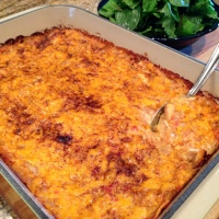 Mom's Chicken Enchilada Casserole and the Evolution of a Family Recipe….