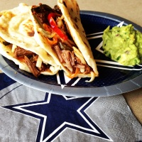 Texas Brisket Tacos with Blue Mesa Jalapeño Relish