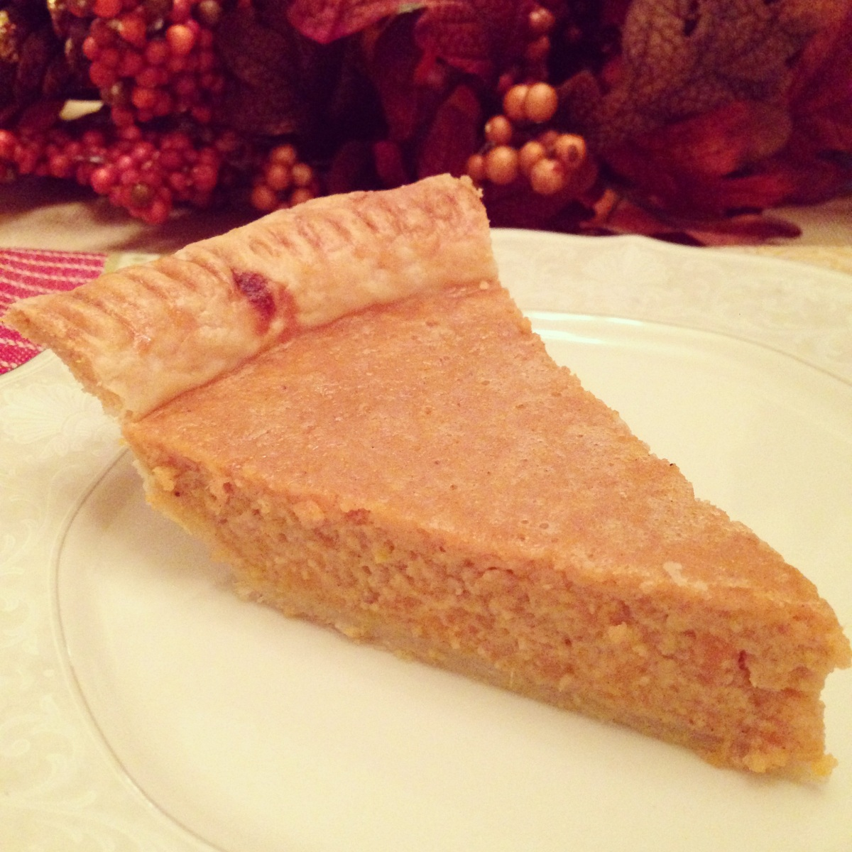 The Best Ever Sweet Potato Pie is Always Mom's.....