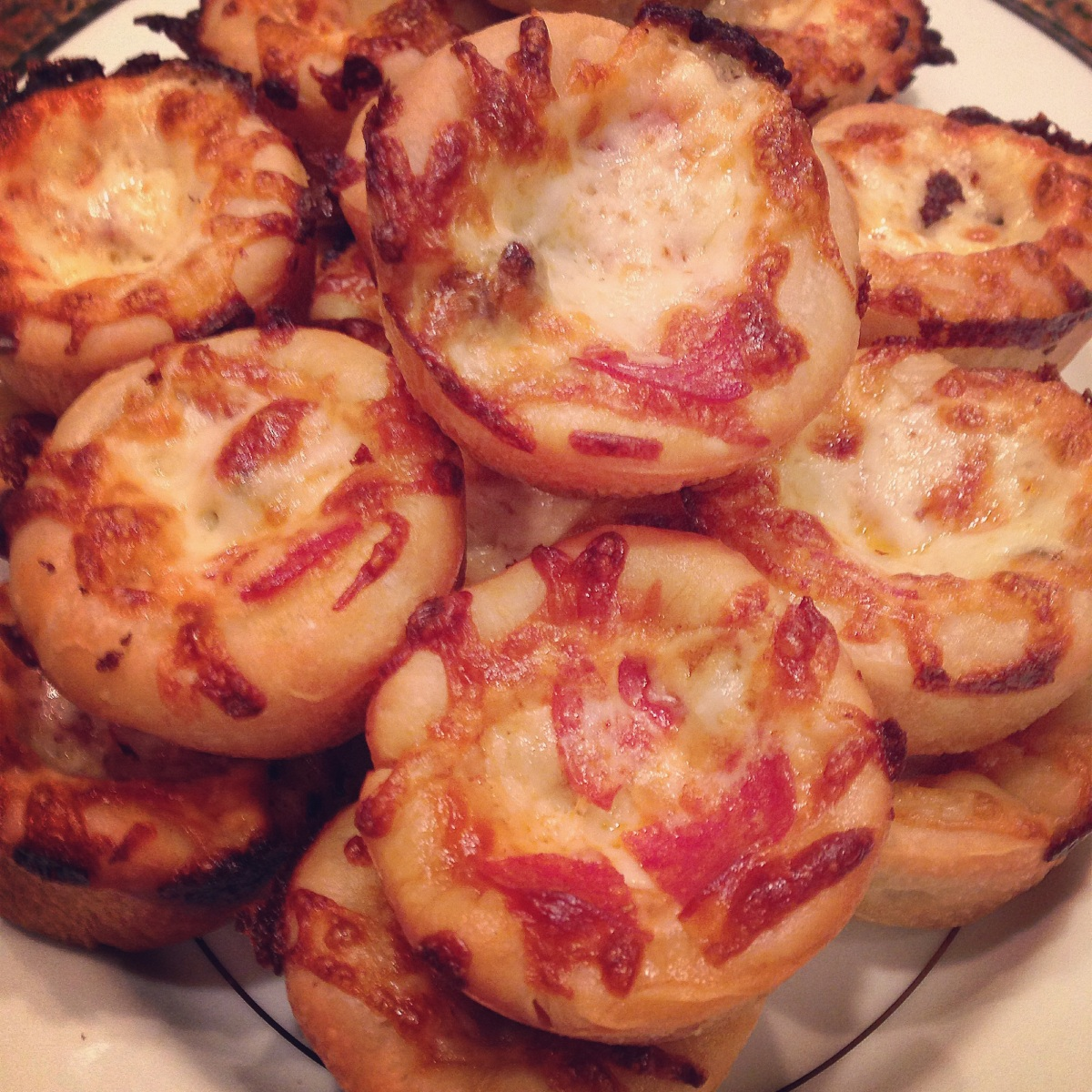 Mini Pizza Party and Meatball Stuffed Pizzas