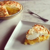 Going Hawaiian Style: My Grandmother's Coconut Cream Pie