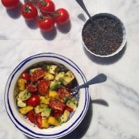 Going Hawaiian Style: Hot Lava Salad….