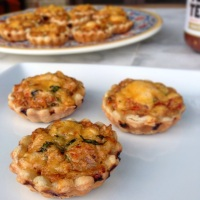 Mini Chicken Fajita Tarts