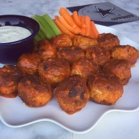 Are You Ready For Some Football?!?!      Buffalo Chicken Meatballs….
