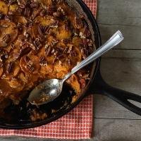 Countdown to Turkey Day: Spiced Sweet Potato Gratin