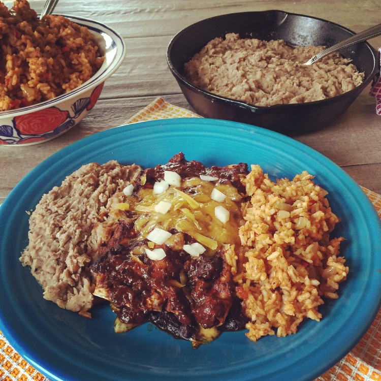 Cheese Enchiladas With Chili Con Carne – Meals With Mel