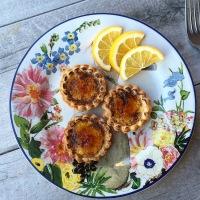 Baking Up a Little Sunshine, Brûlée Meyer Lemon Tartlets....