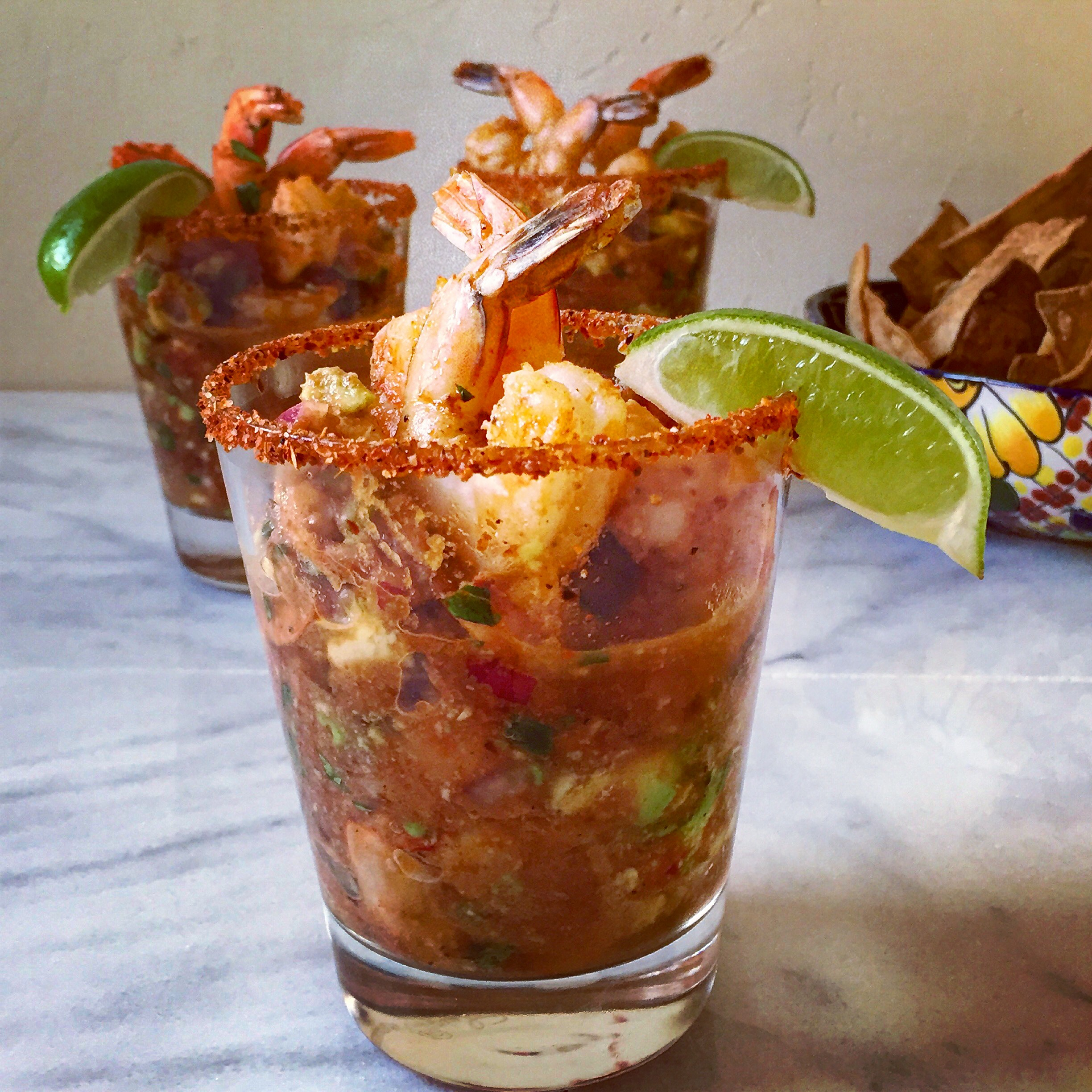 Mexican shrimp cocktail meals with mel for Cocktail 222
