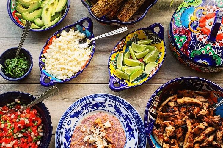 Mexican Fiesta: Grilled Tamarind Chicken Tacos