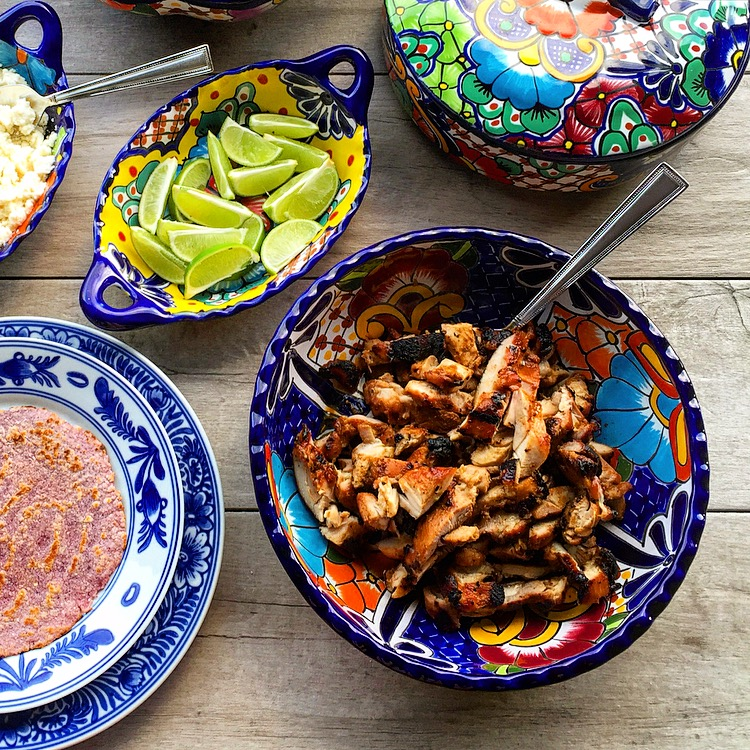 A Mexican Fiesta: Grilled Tamarind Chicken Tacos – Meals ...