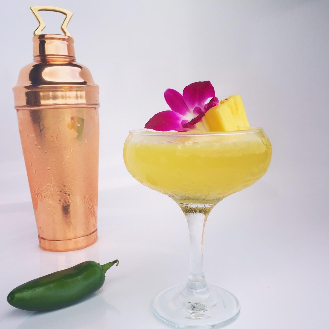 Pineapple Jalapeno Margarita
