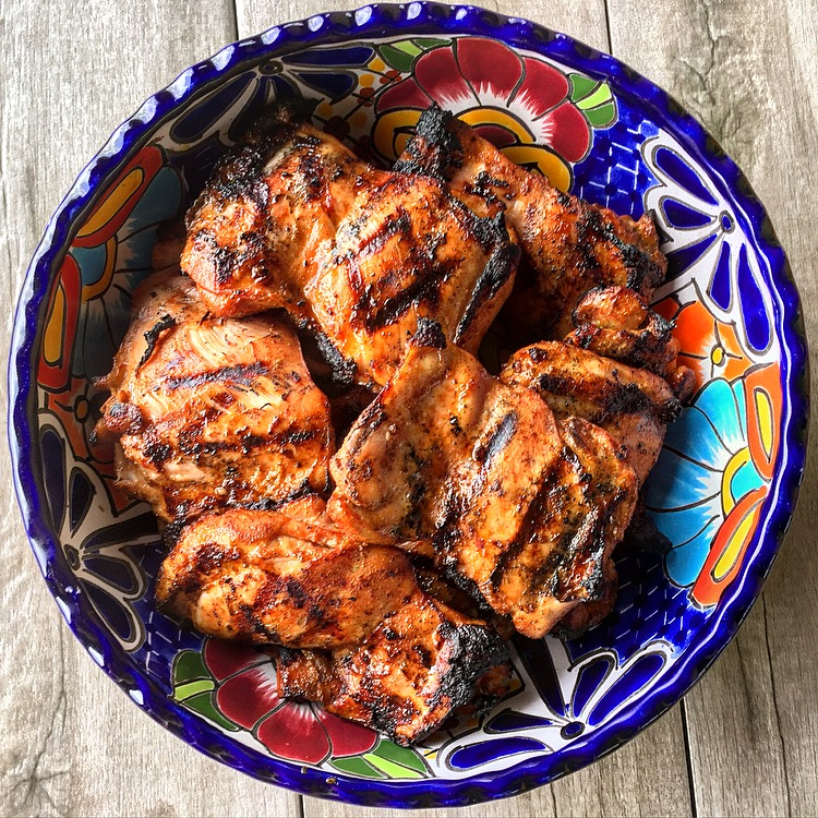 Mexican Fiesta: Grilled Tamarind Chicken Tacos – Meals With Mel