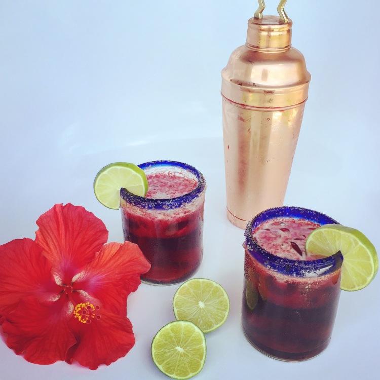 Refreshing Hibiscus Margarita