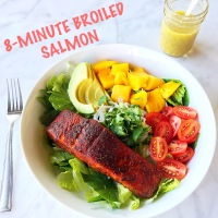 8-Minute Broiled Salmon